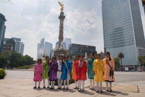 Coro de niñas mazahuas interpretará el Himno Nacional durante el Gran Premio de México