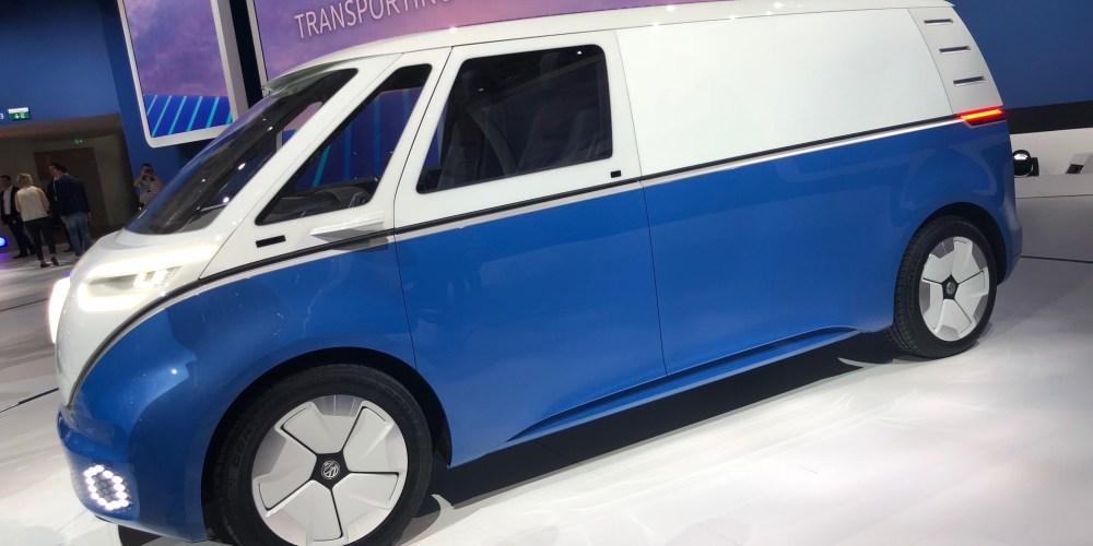 VW Vehículos comerciales entra a la era eléctrica: lanza e-crafter HyMotion y el ID Buzz Cargo