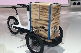 Movilidad eléctrica: Volkswagen presentan triciclo de carga