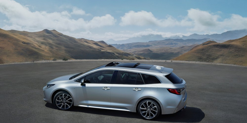 Nueva Toyota Corolla Touring Sports, de momento para Europa únicamente