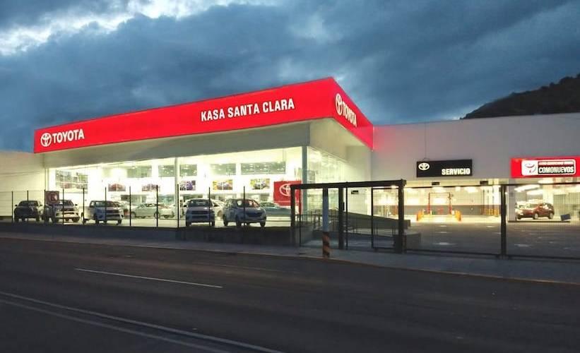 Toyota abre distribuidor en Santa Clara, Ecatepec