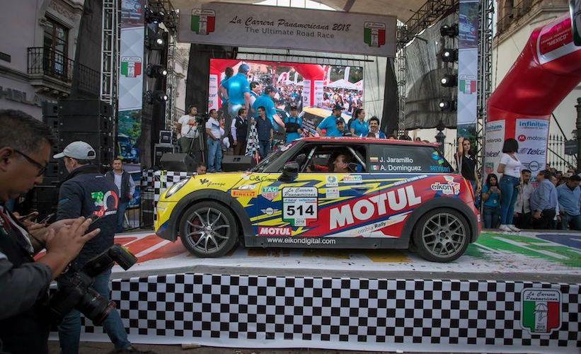 La grandeza de MINI en la Carrera Carrera Panamericana