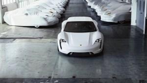Porsche alista su planta en Zuffenhausen para producir el Taycan