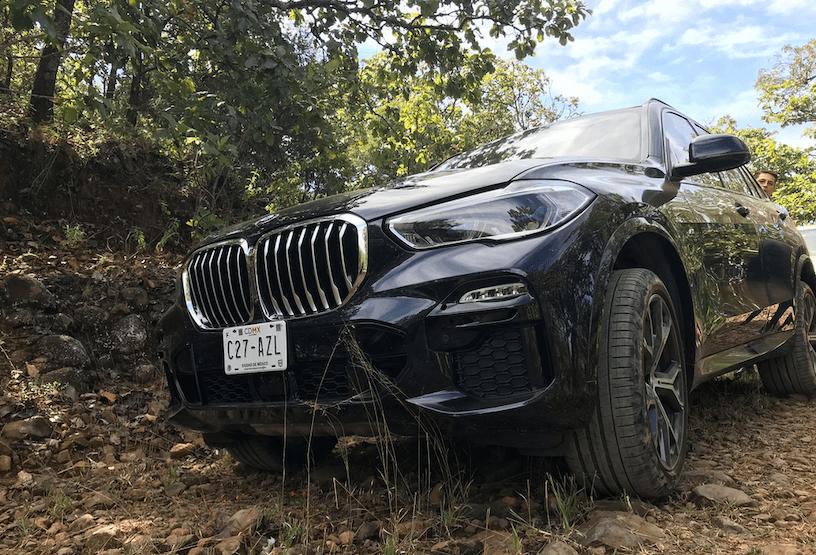 BMW X5 prueba offroad