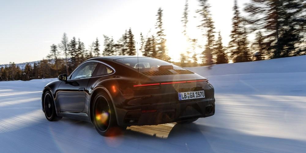 El nuevo Porsche 911 (992) a pruebas extremas antes de su lanzamiento