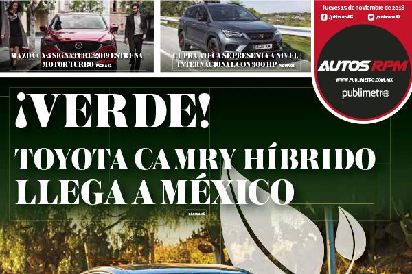 Toyota Camry Híbrido llega a México