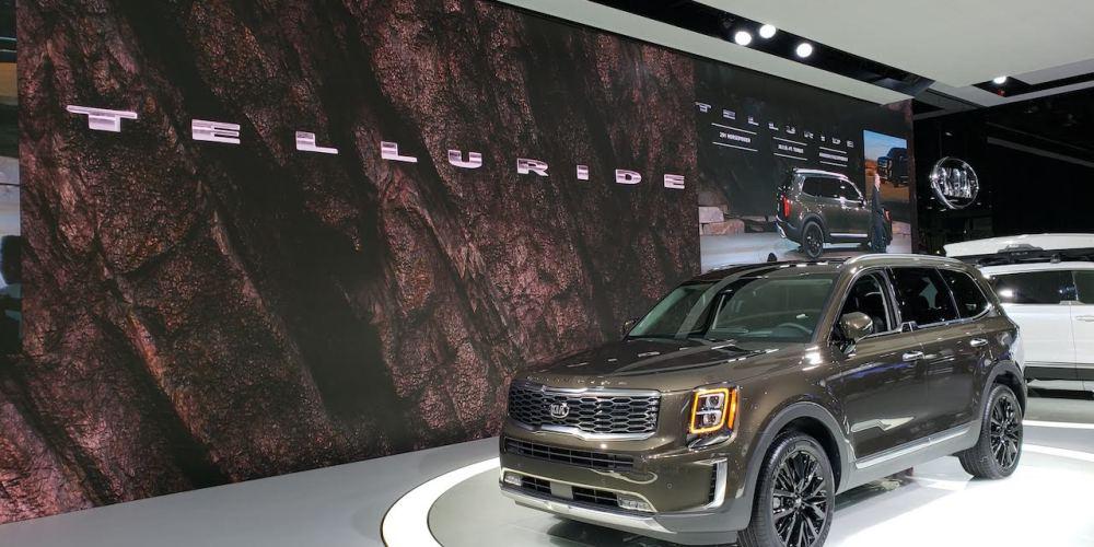 Auto Show de Detroit 2019, KIA Telluride 2020, una SUV para ocho pasajeros
