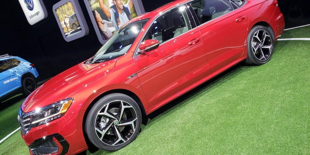 Auto Show de Detroit 2019, Volkswagen Passat 2020