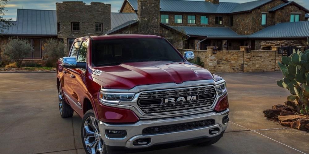 Chrysler Pacifica y Ram 1500 entran en la lista 10Best de Car and Driver