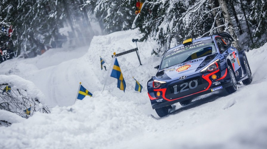 El invierno de Suecia espera al WRC