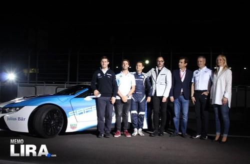 El BMWi8 Coupé Safety Car debutará en el Mexico City E-Prix