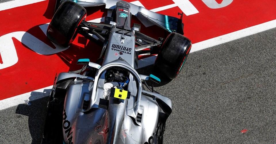 Impresionante pole de Bottas en España
