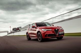 Alfa Romeo Stelvio Quadrifoglio, se lleva tres récords en pistas de UK