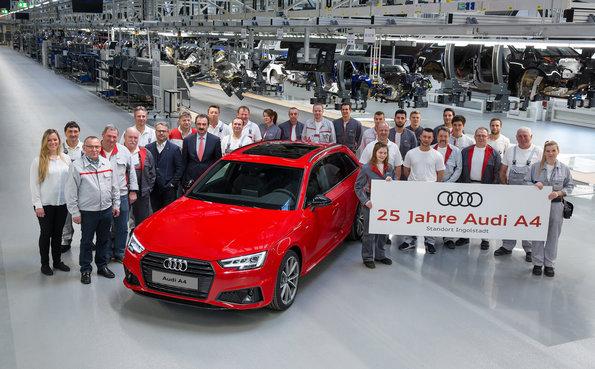 El Audi A4 cumple ¡25 años!