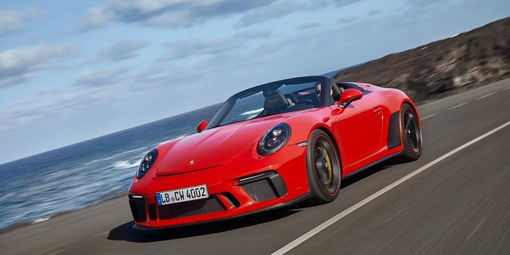 Porsche 911 Speedster de colección, edición limitada de 510 caballos