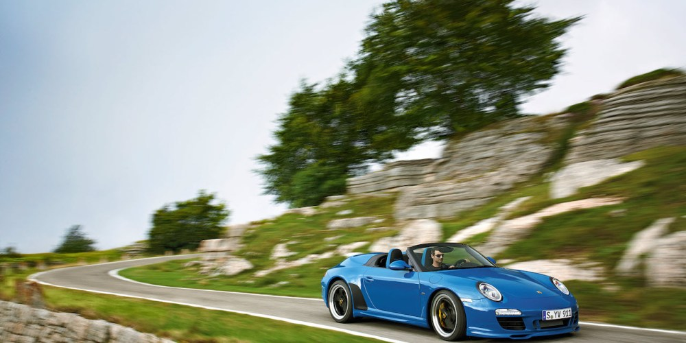 Porsche Speedster, ya seis décadas de generar más que sonrisas