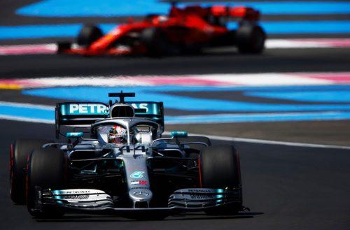 Hamilton imparable gana en Francia