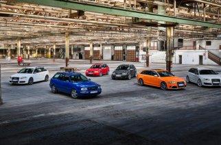 Audi Sport celebra 25 años con los modelos RS