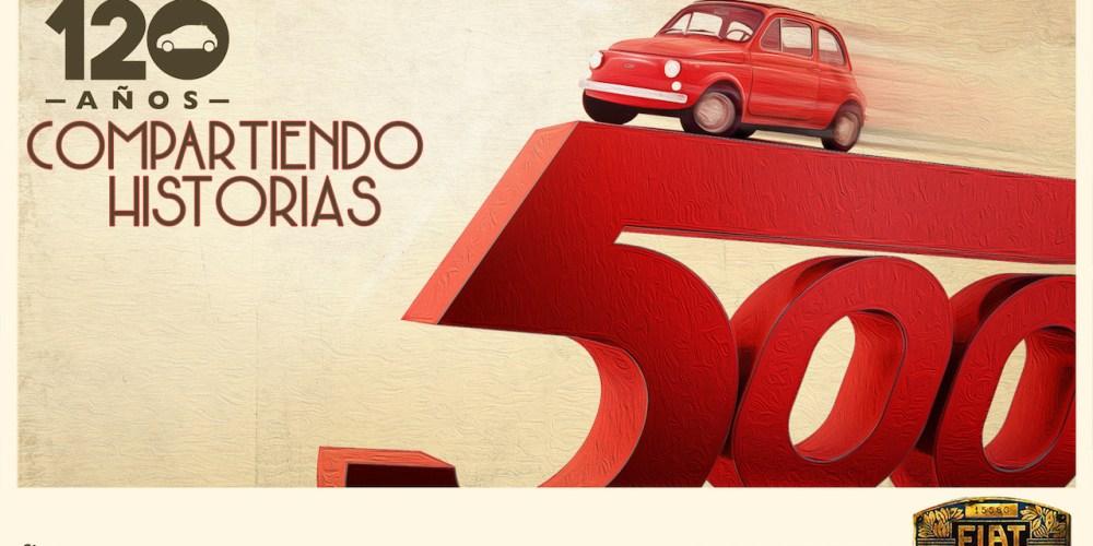La historia continúa… FIAT 120 años de celebrar
