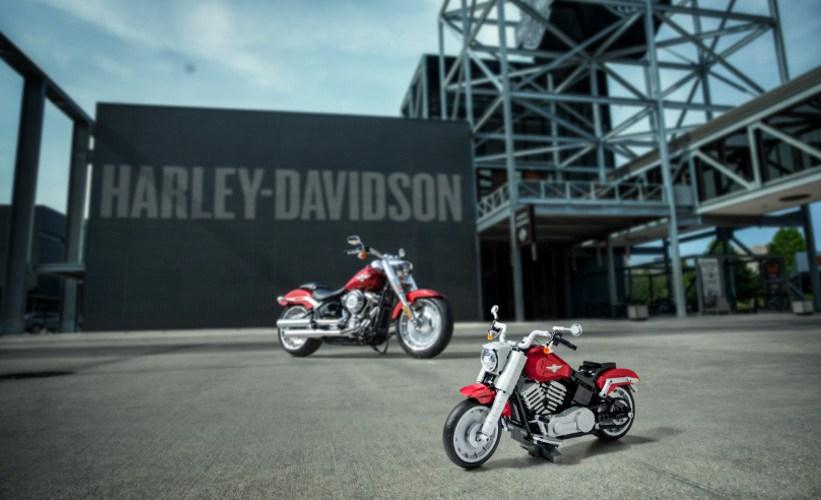 Harley-Davidson Fat Boy para los más pequeños, en LEGO
