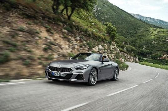 BMW Z4 tres cuartos