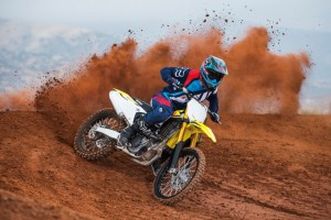 Destaca en las competencias con Suzuki RMZ 450
