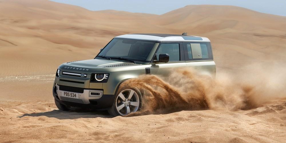 Land Rover Defender, más resistente, eficiente y lujosa