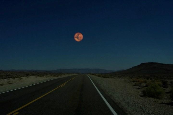 Mars instead of the Moon