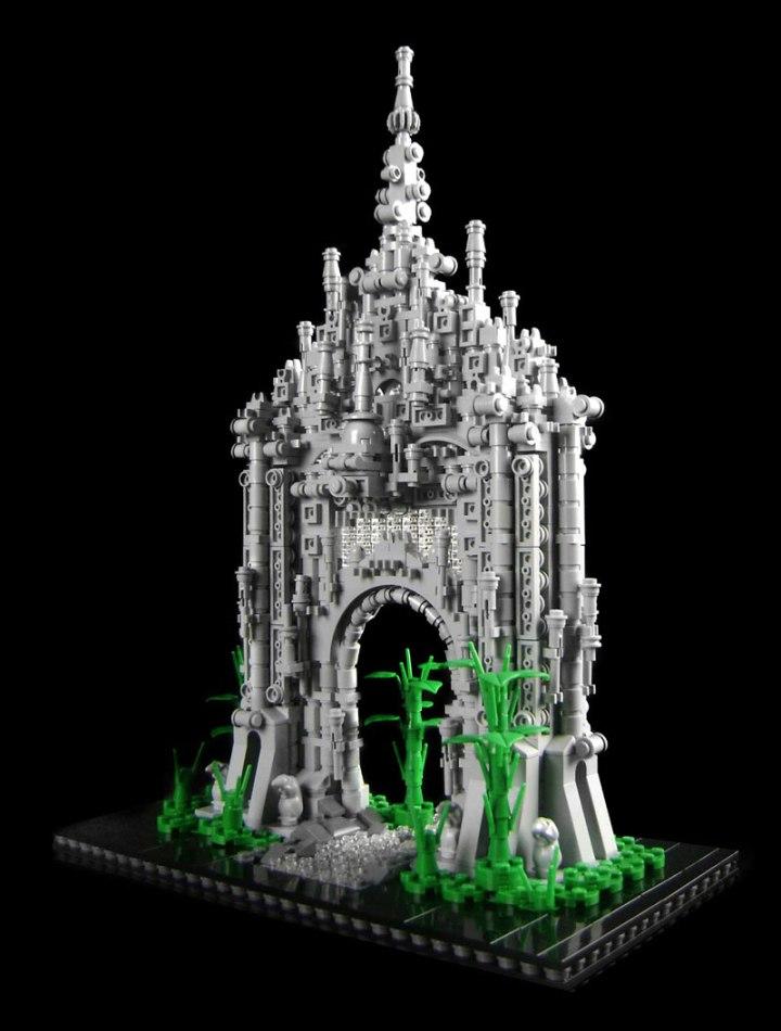 DIY BUILDING KIT: Sanctuary Gate - approx 1700 pieces ($210)