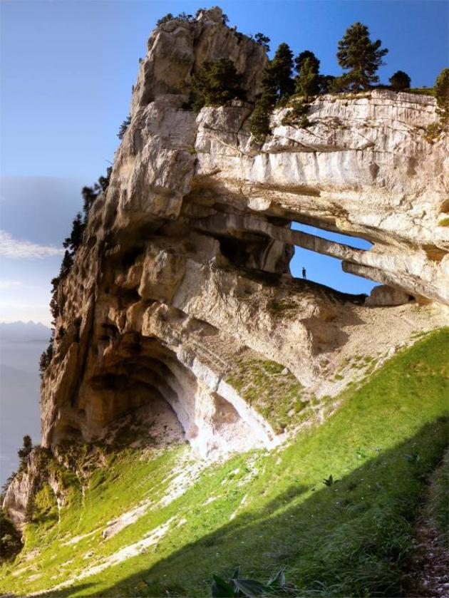 Chartreuse Arch, French Alps.