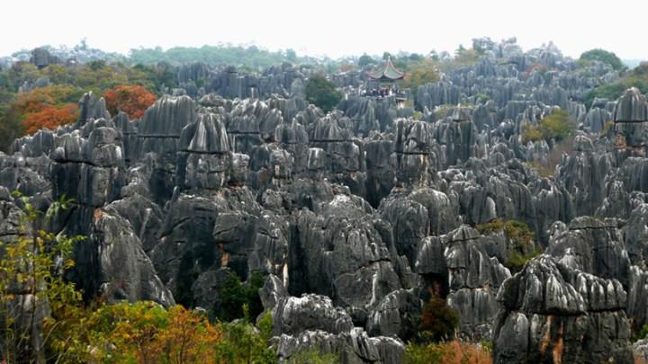 Shilin-Stone-Forest-near-Kunming-Yunnan