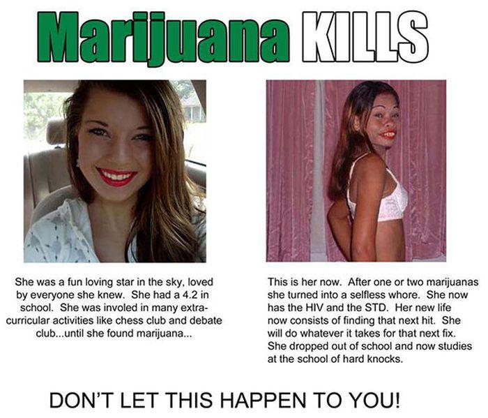 Marijuana kills