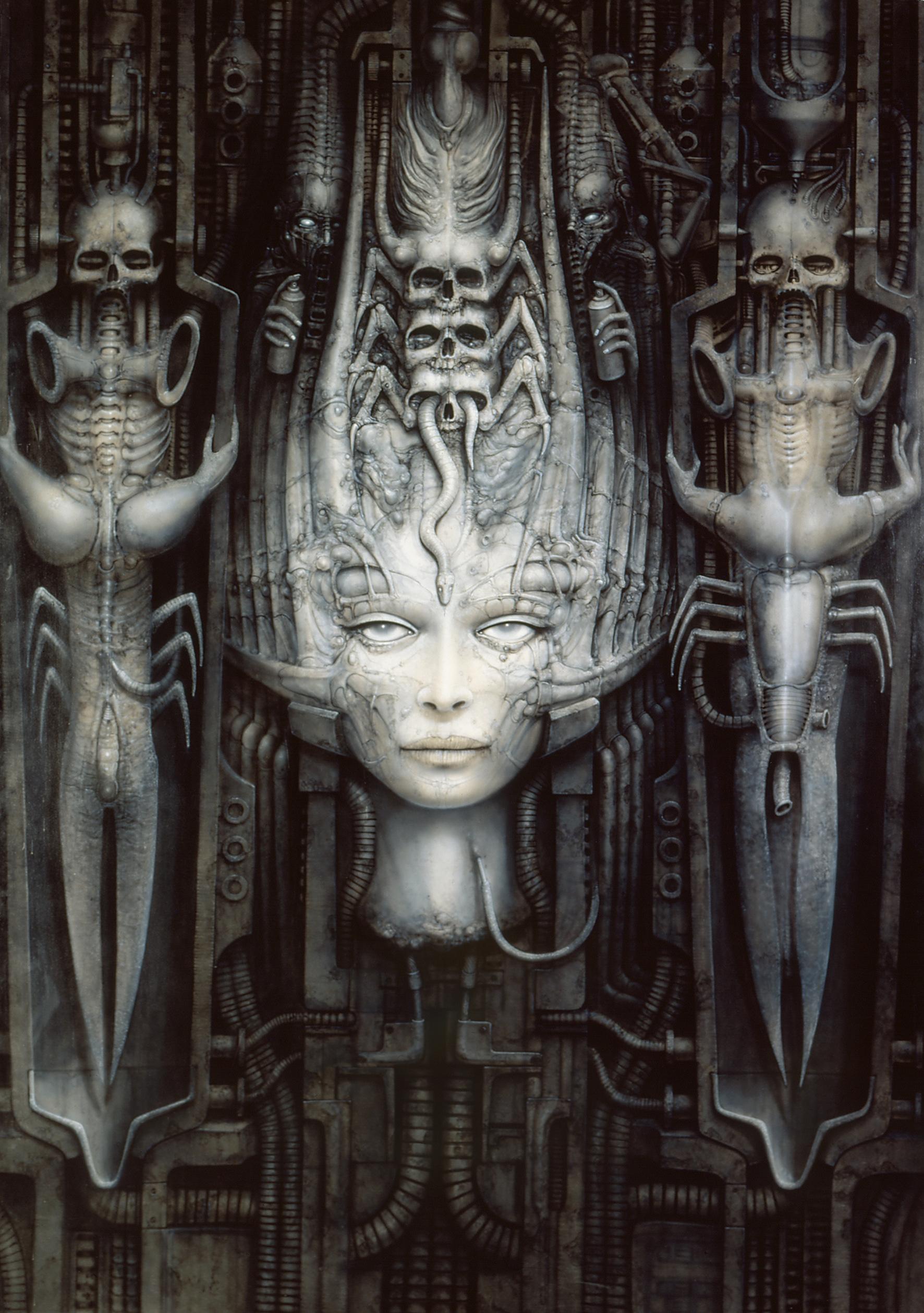'Alien' designer HR Giger dies at 74 | Memolition H.r. Giger Art