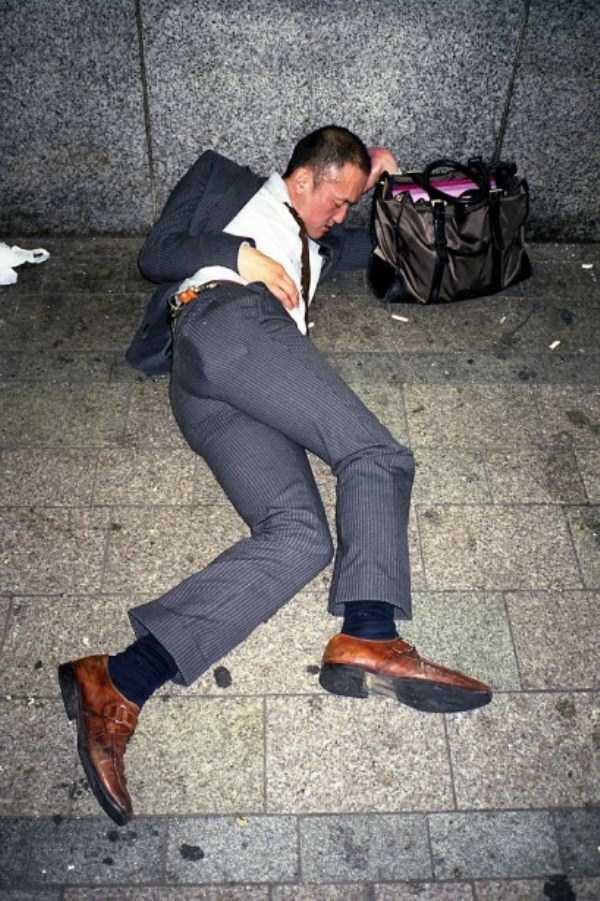 If You Are Japanese Businessmen And You Are Drunk You Can