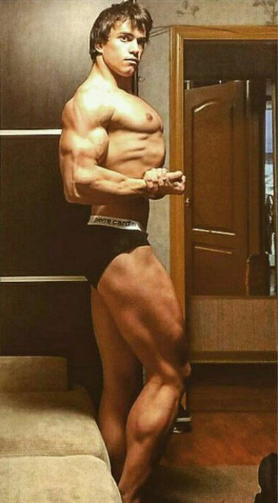 Russian Bodybuilder Who Looks Suchlike Young Arnold