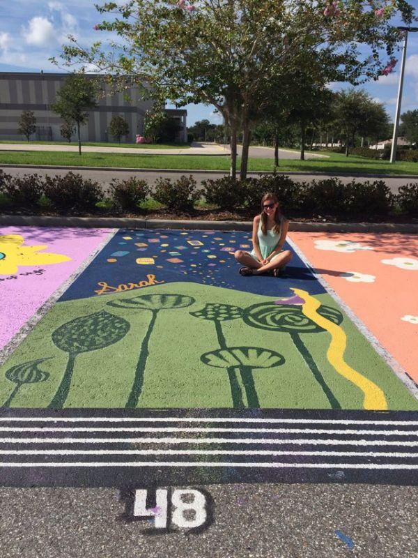 high-schools-let-their-seniors-paint-their-parking-spots-21