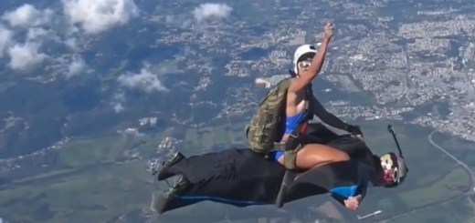 Rodeo Skydive Snapshot
