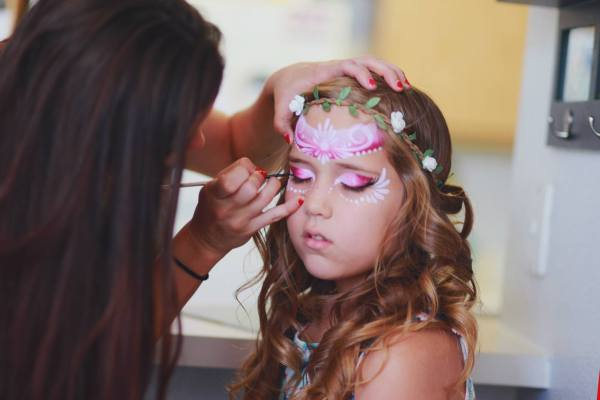 Face Painting Adorable Kids In Colton Ca Southern California Event Entertainment