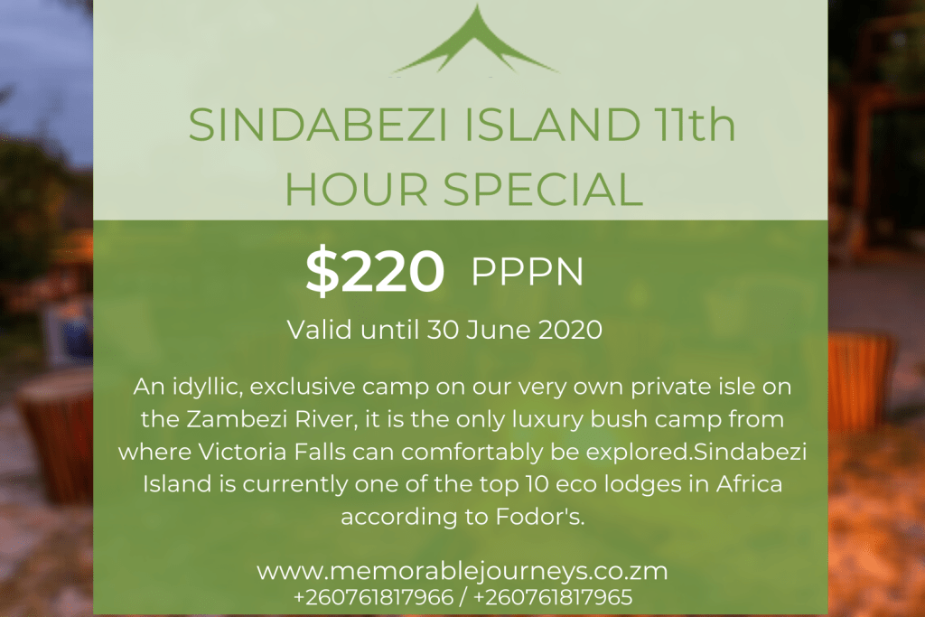 Sindabezi Island 11th Hour Special