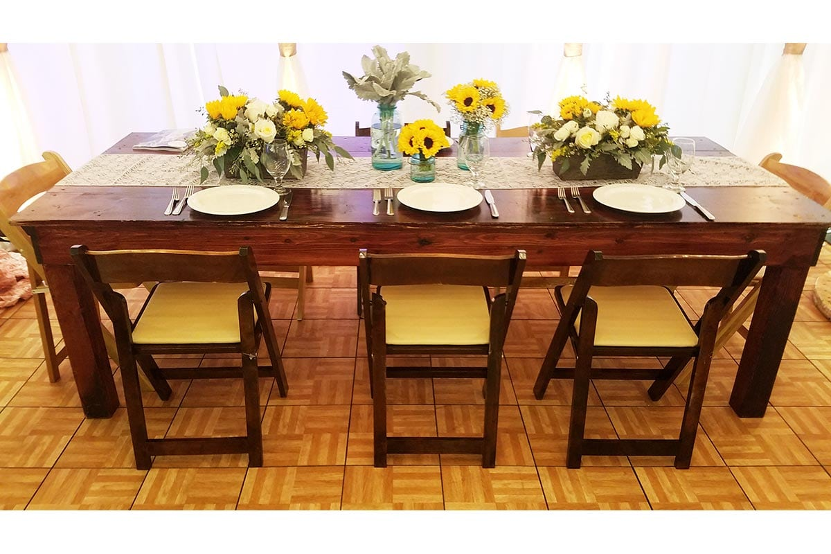 Chair Table Rental Tables And Chairs Memorable Moments