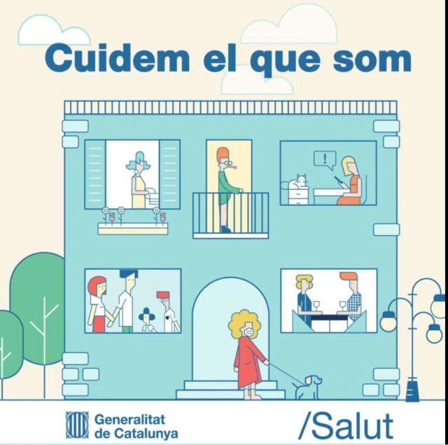 Cuidem el que som. Generalitat de Catalunya. Salut