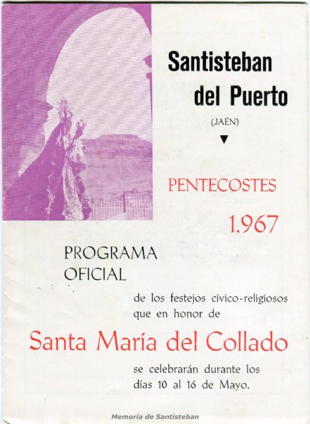 Pentecostés 1967 - Programa Oficial