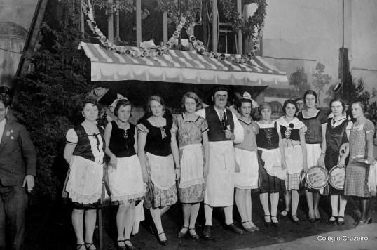 1927 - Bazar realizado no Colégio Cruzeiro