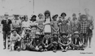 1966 - Festa Junina - 5º Primário