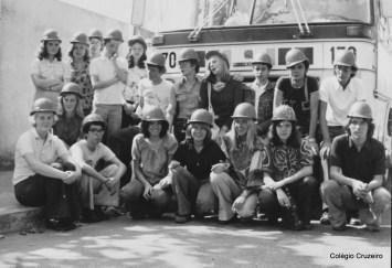 1977 - Visita à CSN