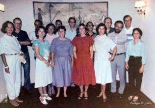 1985 - Encontro de ex-alunos do Colégio Cruzeiro - Centro na Sociedade Germânica