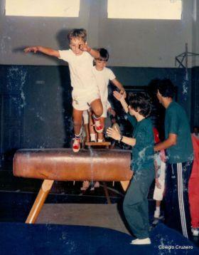 1989 - Educação Física no Colégio Cruzeiro - Centro