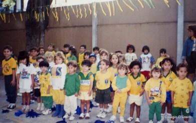 1994 - Cruzeirinho da unidade Centro participa de evento em comemoração a Copa do Mundo