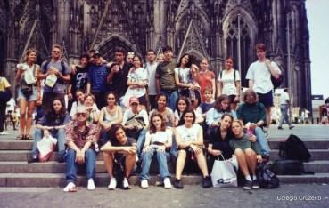 1995 - Viagem de Estudos à Alemanha do Colégio Cruzeiro - Centro