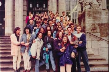 1996 - Viagem de Estudos à Alemanha do Colégio Cruzeiro - Centro